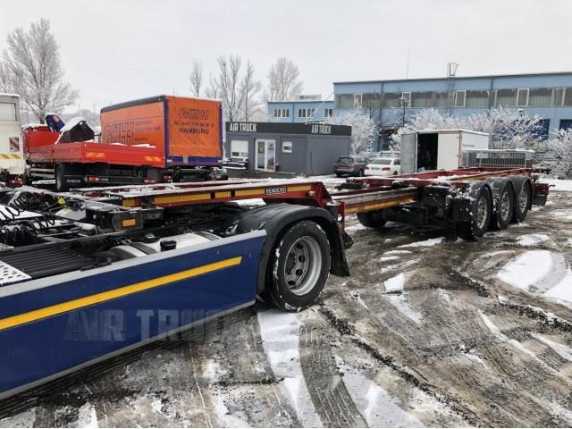 Renders - Nosič kontejneru - Multifunkční - Roztahovací 20, 30, 40