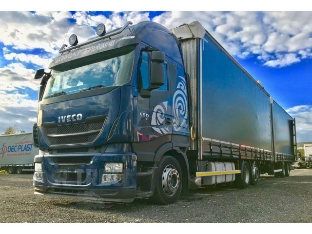 Iveco Stralis AS260S45Y + Sommer ZW 180 - Euro 5