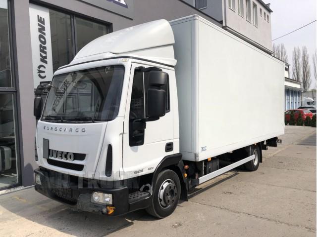 Eurocargo 75E18 EEV Euro 5 + skříň + Čelo